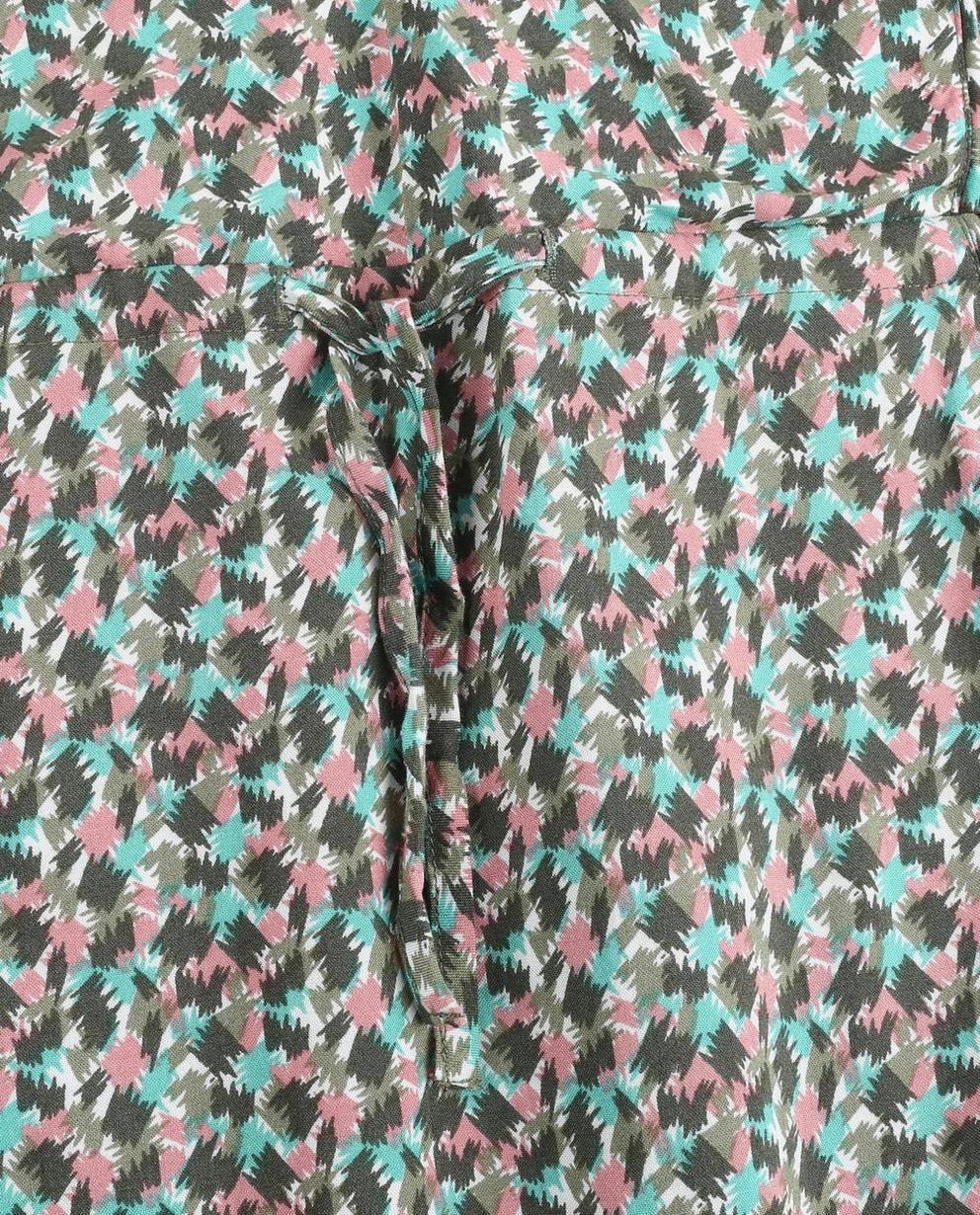 Kleider - Sortiment - Viscose jurk met allover print I AM